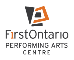 FirstOntario Performing Arts Centre logo_Full Vertical FLAT